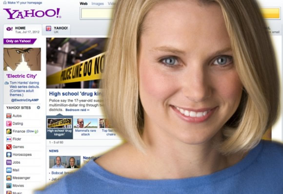 Yahoo to hold product-related event on Monday, CEO Mayer to speak