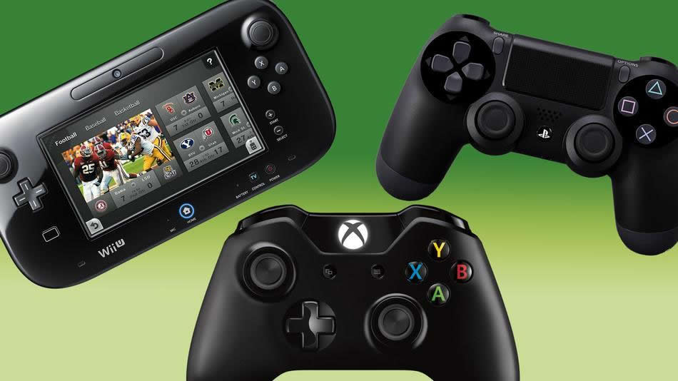 Xbox One Compared With PS4 and Wii U