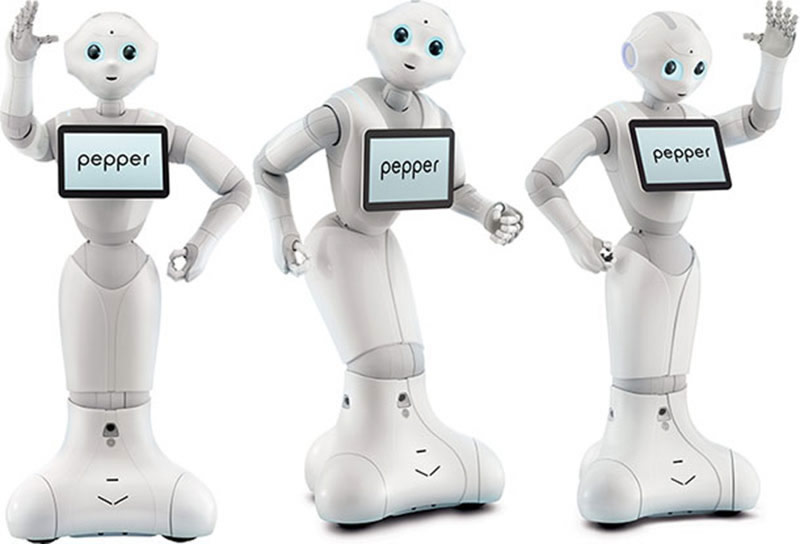 Softbank sold a thousand of its robots called Pepper